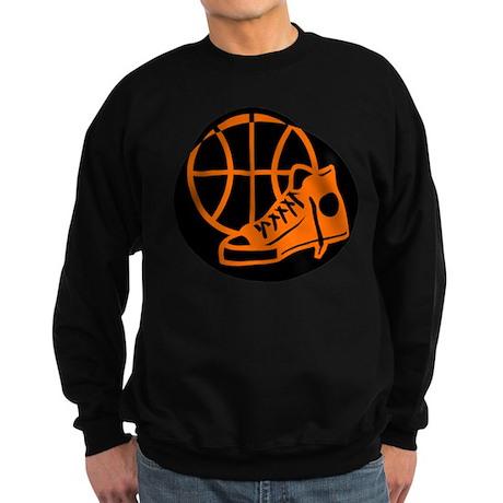 BASKETBALL *32* [orange} Sweatshirt (dark)