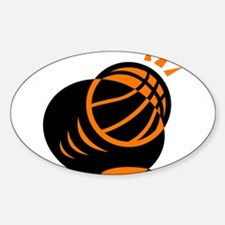 BASKETBALL *33* {orabge} Decal