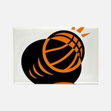 BASKETBALL *33* {orabge} Rectangle Magnet