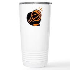 BASKETBALL *33* {orabge} Travel Mug