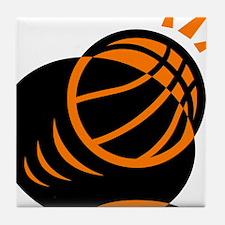 BASKETBALL *33* {orabge} Tile Coaster
