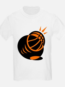BASKETBALL *33* {orabge} T-Shirt