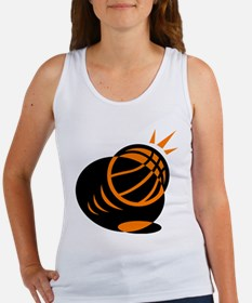 BASKETBALL *33* {orabge} Women's Tank Top