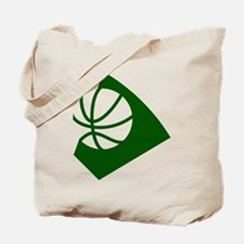 BASKETBALL *34* {green} Tote Bag