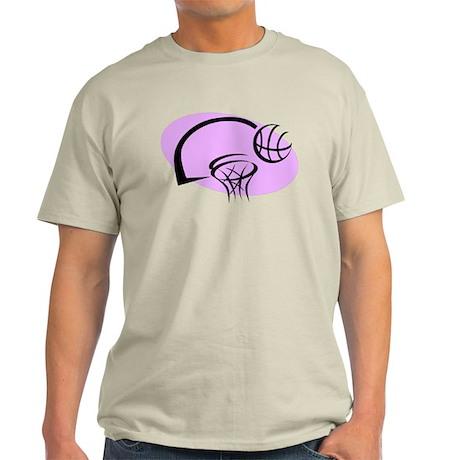 BASKETBALL *35* {purple} Light T-Shirt