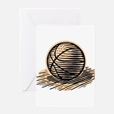 BASKETBALL *36* Greeting Card