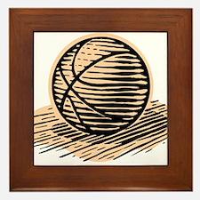 BASKETBALL *36* Framed Tile