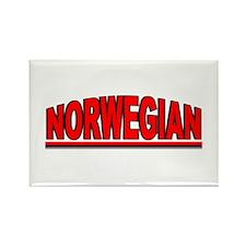 """Norwegian"" Rectangle Magnet"