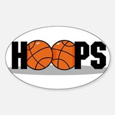 HOOPS *2* {black} Decal