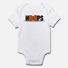 HOOPS *2* {black} Infant Bodysuit
