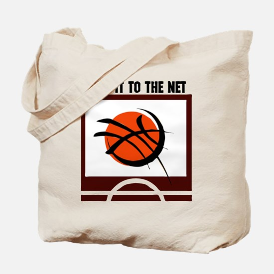 TO THE NET *1* Tote Bag