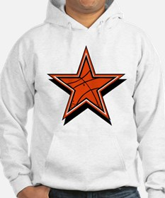 BASKETBALL STAR {orange} Hoodie