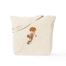 BASKETBALL *40* {lt orange} Tote Bag