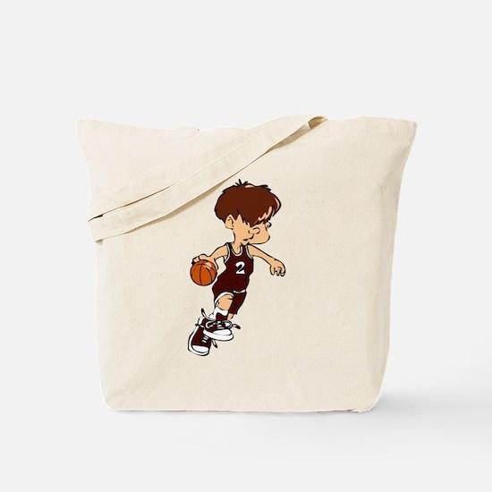 BASKETBALL *40* {crimson} Tote Bag