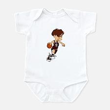 BASKETBALL *40* {crimson} Infant Bodysuit