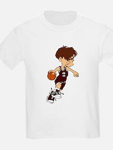BASKETBALL *40* {crimson} T-Shirt