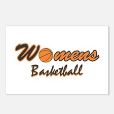 WOMENS BASKETBALL *1* {orange Postcards (Package o