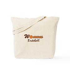 WOMENS BASKETBALL *1* {orange Tote Bag