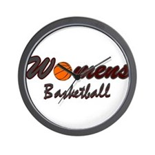 WOMENS BASKETBALL *1* {crimso Wall Clock
