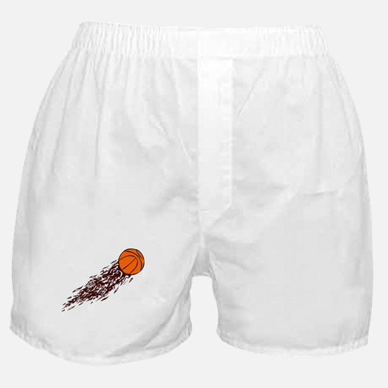 BASKETBALL *43* {crimson} Boxer Shorts