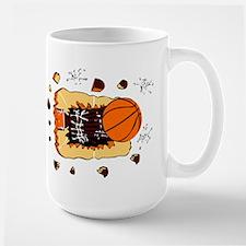 BASKETBALL *44* {crimson} Mug
