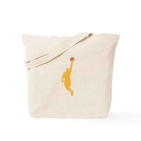 BASKETBALL *45* {yellow} Tote Bag