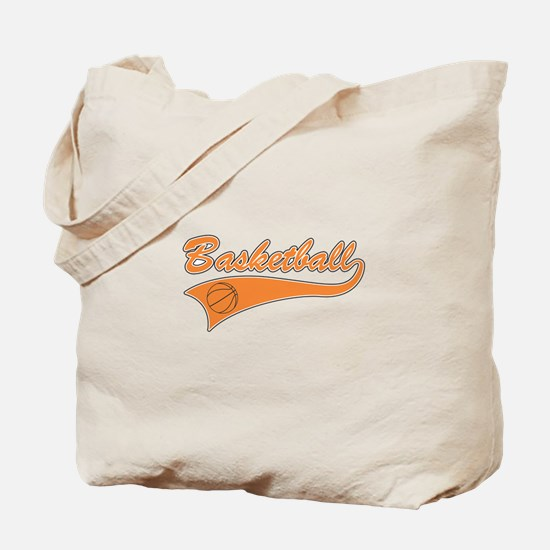 BASKETBALL *46* {orange} Tote Bag