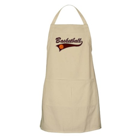 BASKETBALL *46* {crimson} Apron