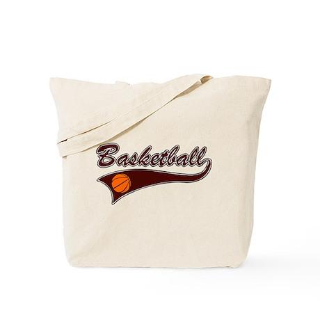 BASKETBALL *46* {crimson} Tote Bag