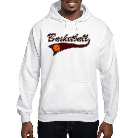 BASKETBALL *46* {crimson} Hooded Sweatshirt