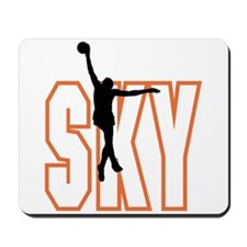 SKY *1* {orange} Mousepad