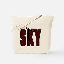 SKY *1* {crimson} Tote Bag