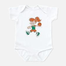 BASKETBALL *48* {orange/green Infant Bodysuit