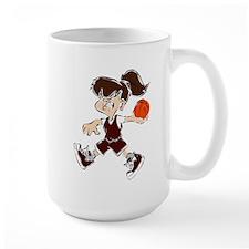 BASKETBALL *48* {crimson} Mug