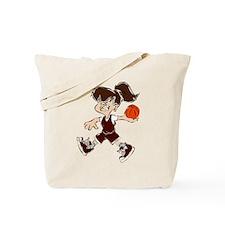 BASKETBALL *48* {crimson} Tote Bag