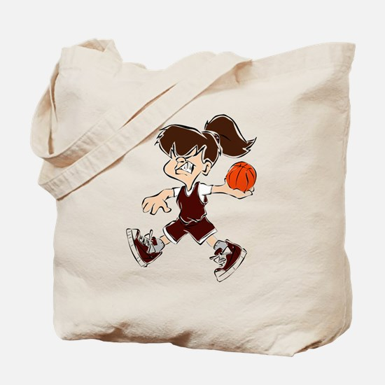 BASKETBALL *48* {crimson} Tote Bag