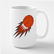 BASKETBALL *49* {orange/gray} Mug