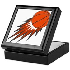 BASKETBALL *49* {orange/gray} Keepsake Box