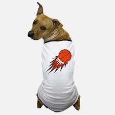 BASKETBALL *49* {orange/gray} Dog T-Shirt