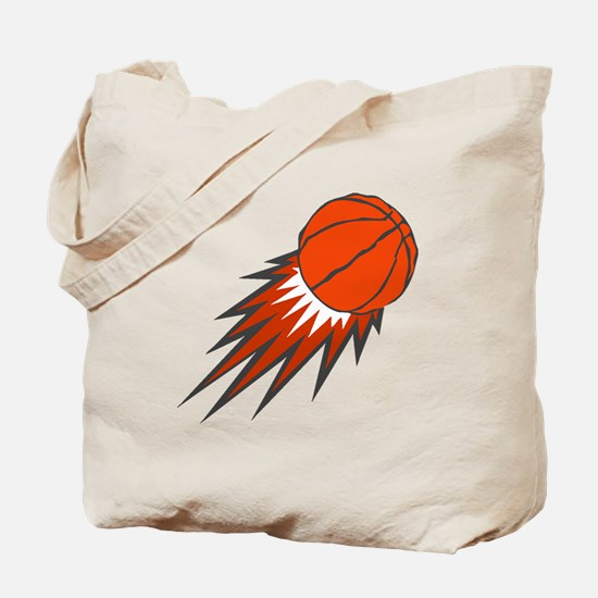 BASKETBALL *49* {orange/gray} Tote Bag