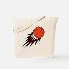 BASKETBALL *49* {crimson} Tote Bag