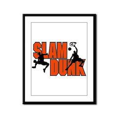 SLAM DUNK *1* {orange} Framed Panel Print