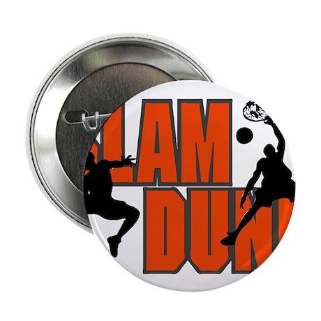 "SLAM DUNK *1* {orange} 2.25"" Button (100 pack)"