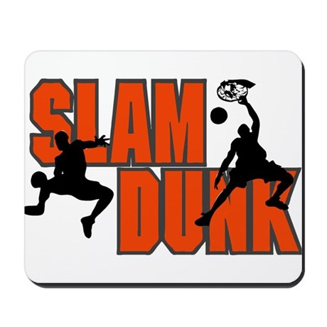 SLAM DUNK *1* {orange} Mousepad