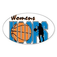 WOMENS HOOPS *1* {blue} Decal