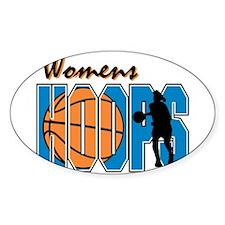 WOMENS HOOPS *1* {blue} Decal