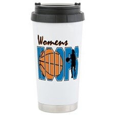 WOMENS HOOPS *1* {blue} Travel Mug