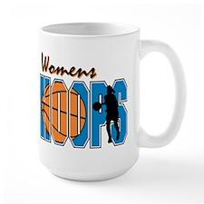 WOMENS HOOPS *1* {blue} Mug