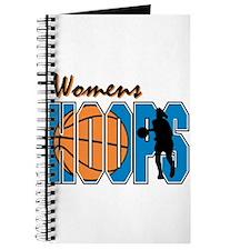 WOMENS HOOPS *1* {blue} Journal