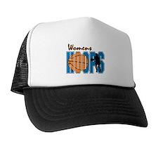 WOMENS HOOPS *1* {blue} Trucker Hat